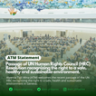 Passage of UN HRC Resolution recognizing the right to a safe, healthy and sustainable environment