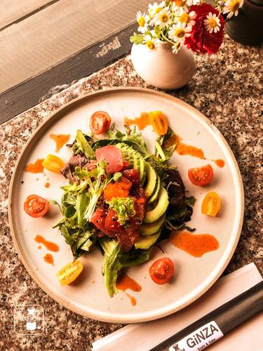 Spicy Maguro Salad