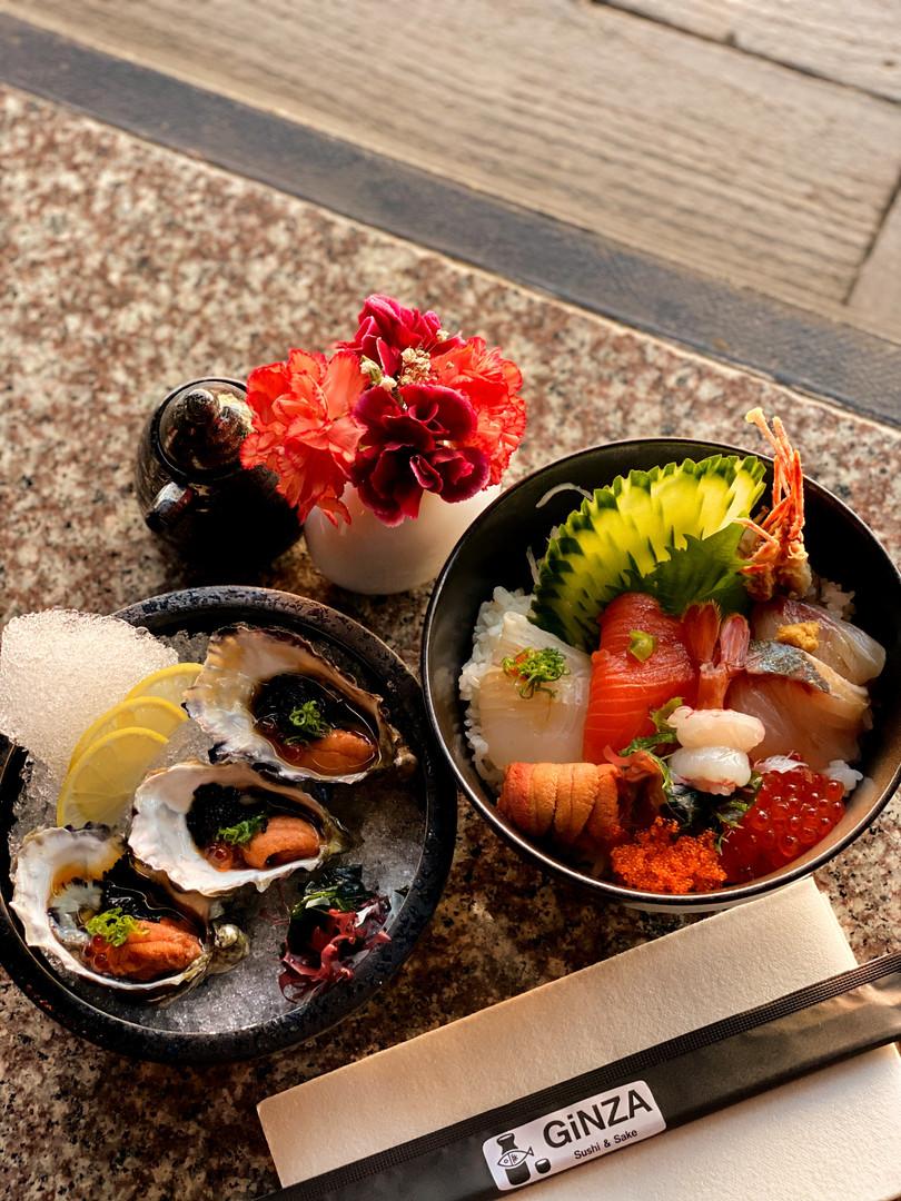 Ginza Oyster & Premium Chirashi