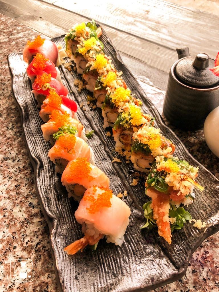 Rainbow Roll & Chef Choice Roll