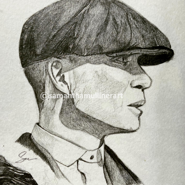 Thomas Shelby with flatcap
