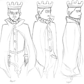 'The King' Ghost Design Sheet