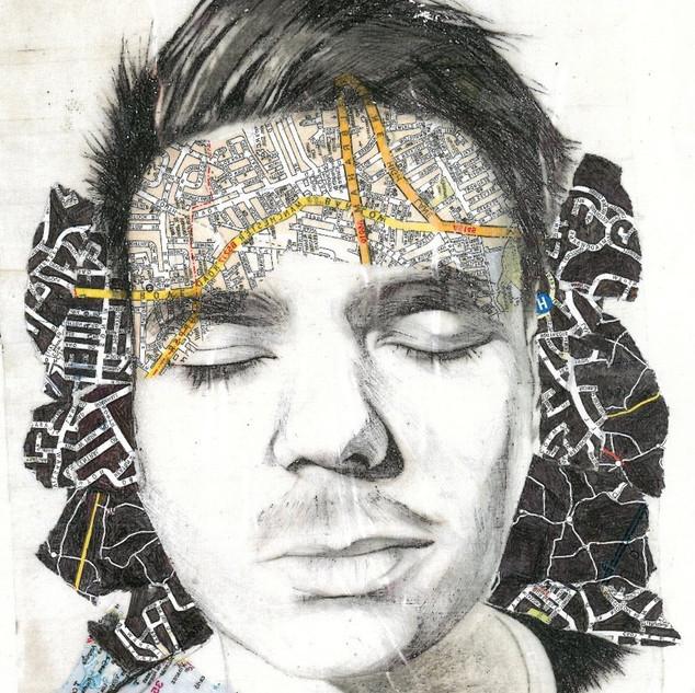 Pencil & Pen Experimental Portrait