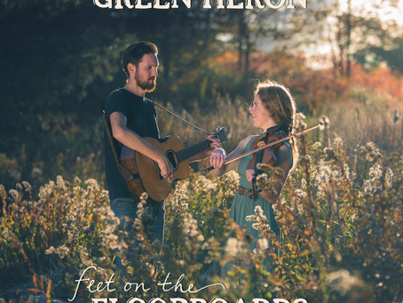 Album Review – Feet on the Floorboards – Green Heron – 2021