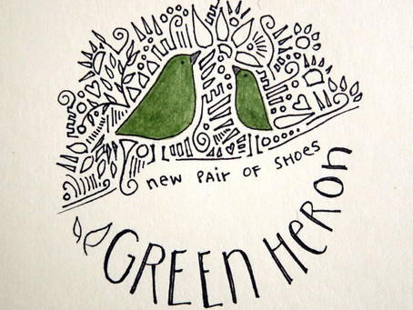 Album Review - New Pair of Shoes - Green Heron - 2019
