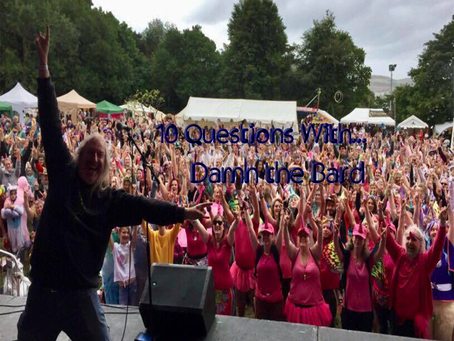 10 Questions with Damh The Bard