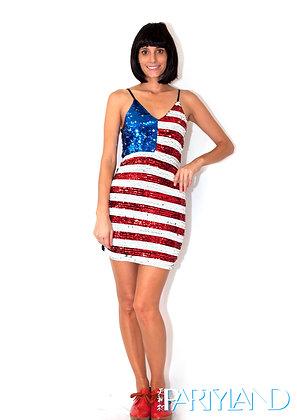 American Sequin Dress