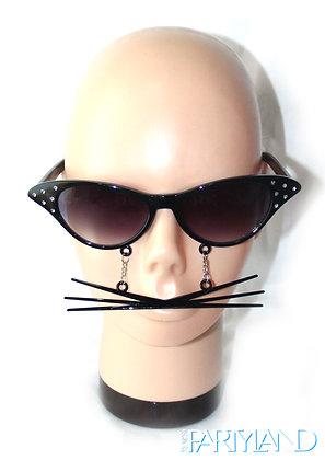 Black Whisk Sunglasses