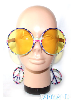 Peace Sign Sunglasses