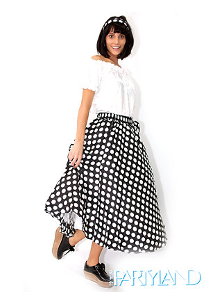 60s Poker Dot outfit