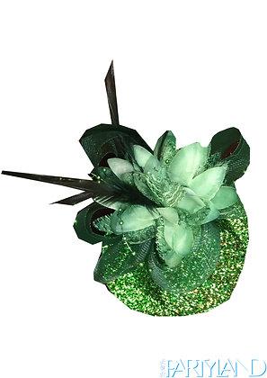 Small Glitter Green Hat