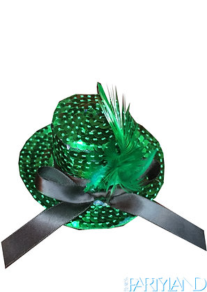 Small Sequin Green Hat