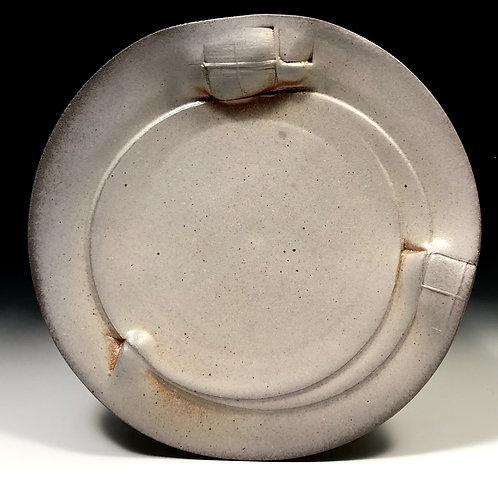 Soda fired dinner plate