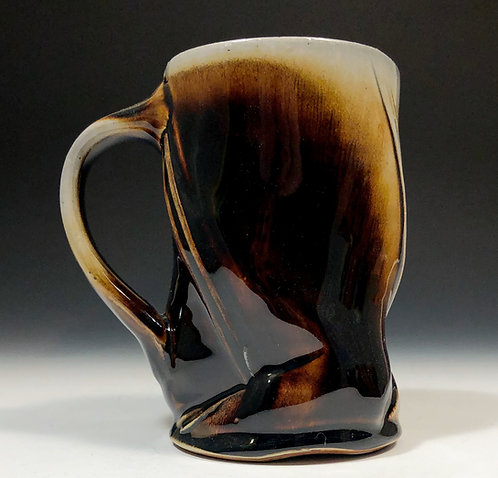 Tenmoku beer mug