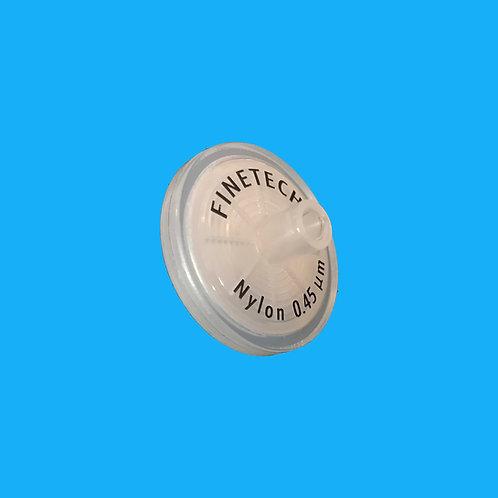 Filtros de Jeringa de Nylon - No Estériles - Ø 25 mm x 0,22 µm