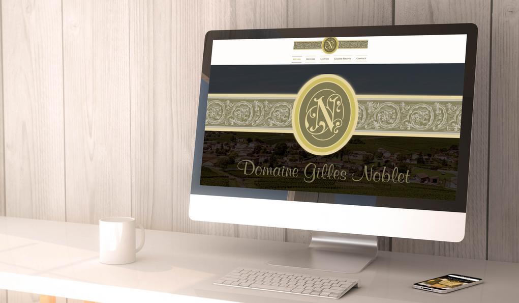 Site Internet Domaine Gilles Noblet
