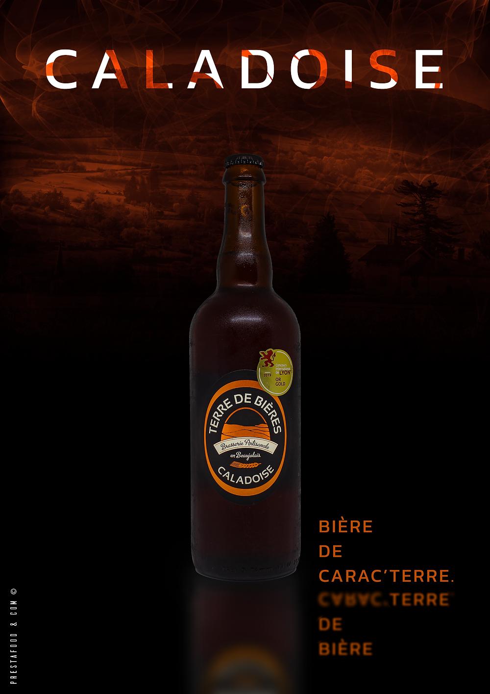 """""""Caladoise"""" de Terre de Bières. Brasserie beaujolais"""