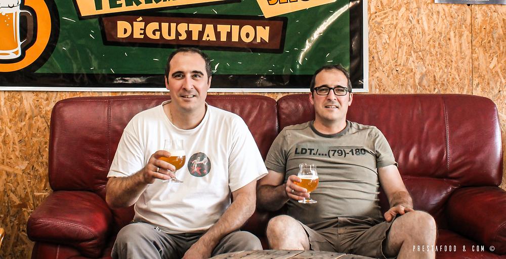 Grégory et Damien, les frères jumeaux créateur de la brasserie artisanale bio Gredam