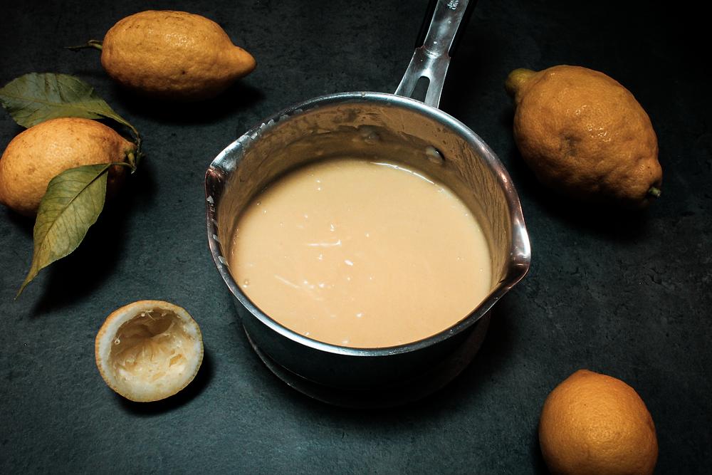 Crème citron cuite