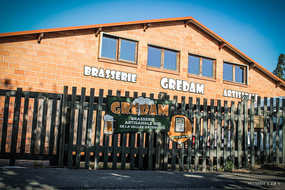 Brasserie artisanale bio GreDam de la vallée d'azergues