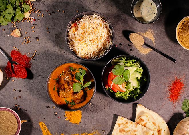 Agneau Curry Tandoori Masala Food Truck