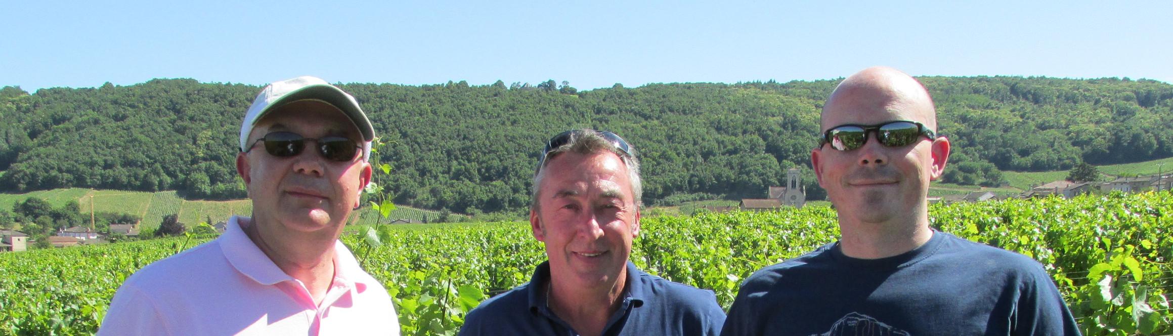 Gilles Noblet et son équipe