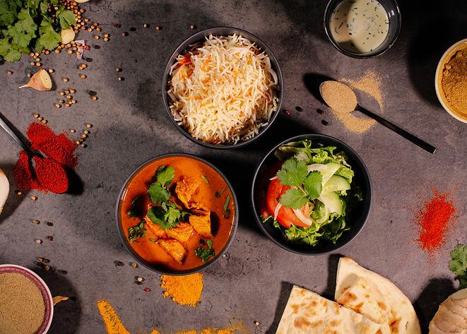 Poulet Curry Tandoori Masala Food Truck