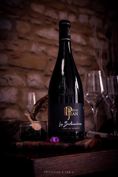 Côte de Brouilly les berthaudières 2017 vin du beaujolais exceptionnel
