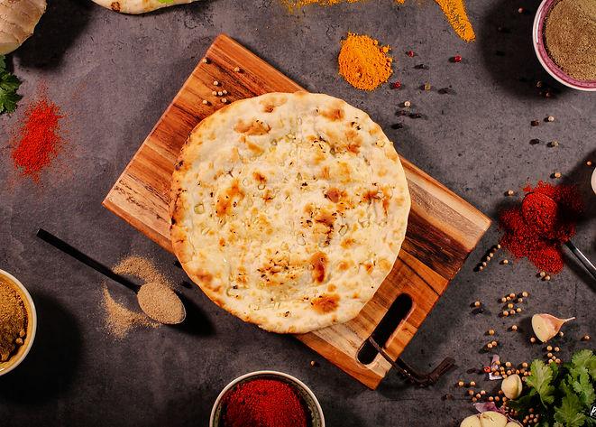 Naan Garlic Ail Tandoori Masala Food Truck