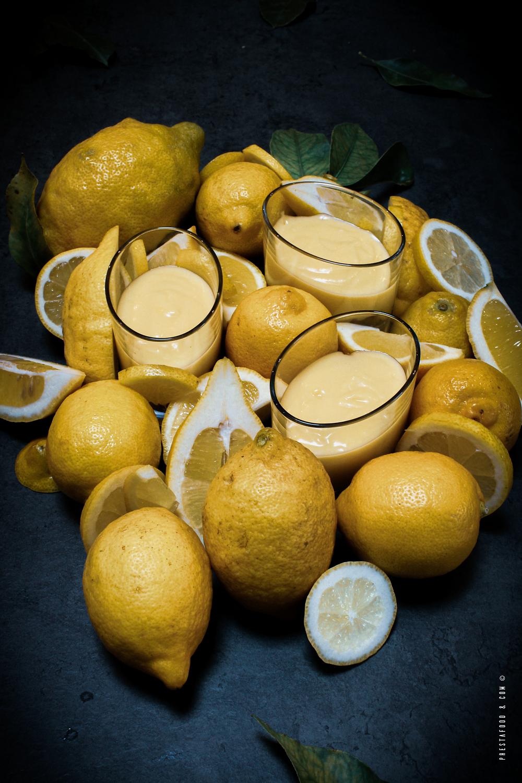 Lemon Curd et Sablé Breton. Tarte au Citron revisité en verrine