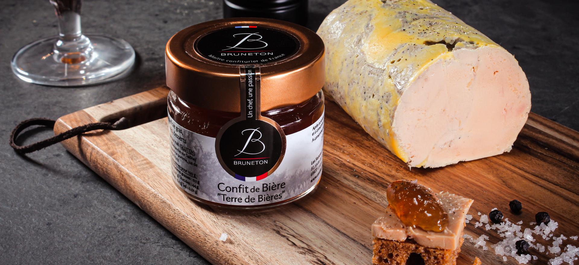 Foie gras de Canard à l'O de Bière