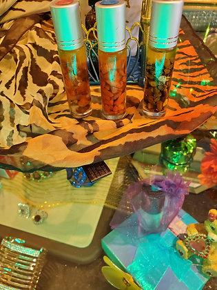 NB Signature Healing Crystal Massage Oil.