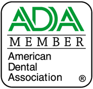 ADA Member logo at Happy Teeth Dental Care