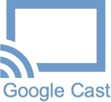 GOOGLE Chromecast na SHAPES