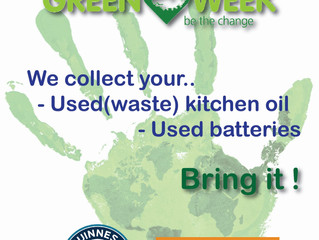 Green Week -  Be the change !