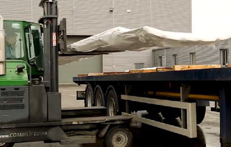 We are featured on Combilifts latest videos for the COMBi C-Series