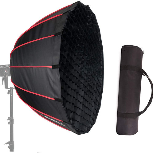 LAOFAS 35inch 90cm Deep Parabolic Softbox with Quick-Release Fuction