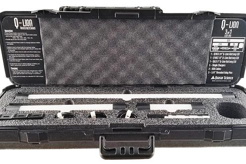 Quasar Science Q-Lion 3x1 Lithium-Ion Battery LED Kit