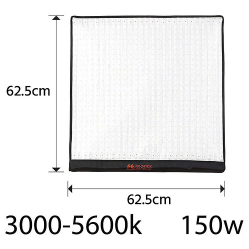 Falcon Eyes RX-24TDX 150W Bi-Color  LED Lightmat with Grid Softbox and Remote