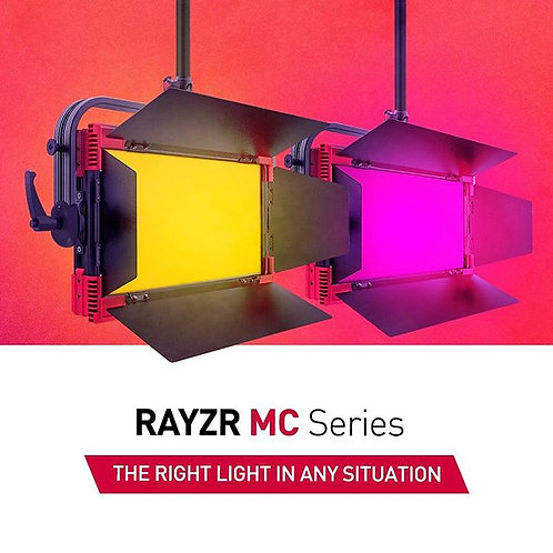 Rayzr 7 MC200 Multi Color RGB+WW, CW Soft LED Panel Light