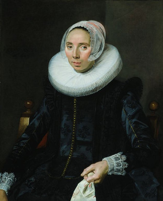 Portrait Of A Woman In A Chair