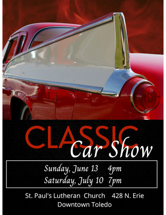 Classic Car Shows- variety & vintage