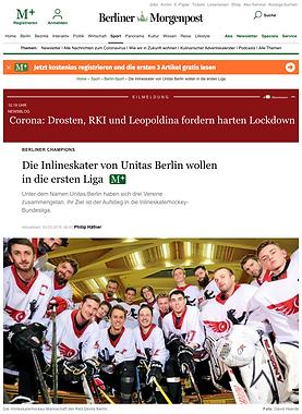 Berliner Morgenpost %22Die Inlineskater
