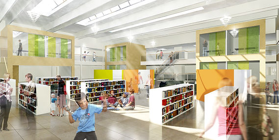 2011 02 28 Christiansfeld skole bibliote