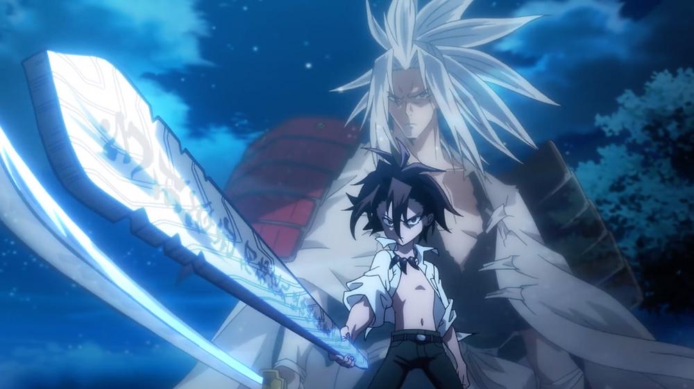 Ryu and Amidamaru