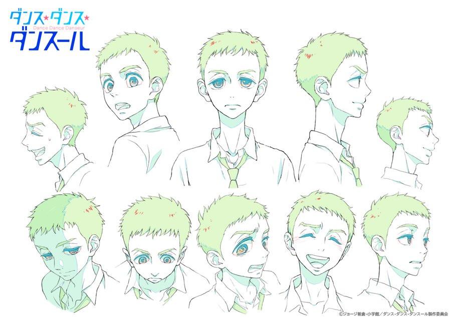 Junpei Murao character designs by Hitomi Hasegawa.