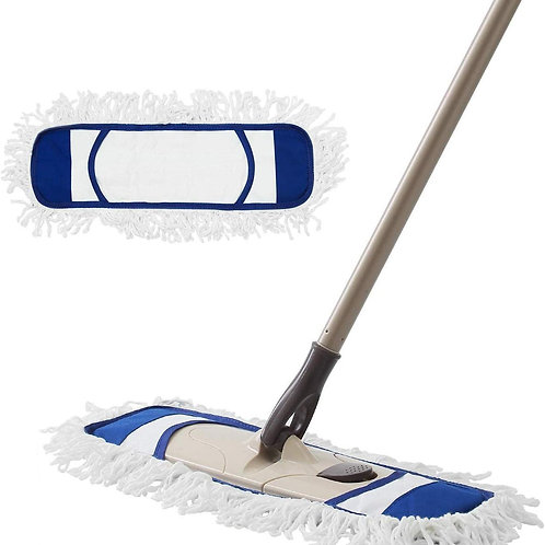 Dust Mop Microfiber Mops for Floor Cleaning With Extendable Adjustable Handle
