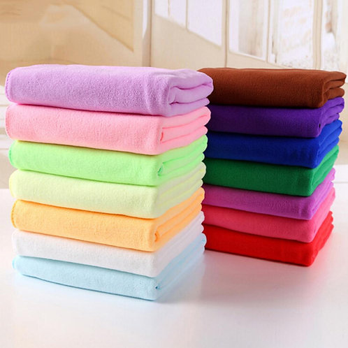Water Absorbing Soft Microfiber Towel  Multi-Purpose Cleaning Cloth  30x30cm