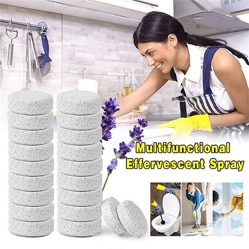 Multi functional Effervescent Spray Concentrate  (10PCS=40L Water)