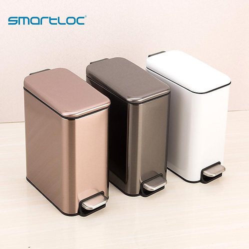 Smartloc 5L Stainless Steel Quiet Kitchen Trash Can